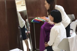 パーソナルカラー&骨格診断イベントを名古屋髙島屋さまにて開催しました✨